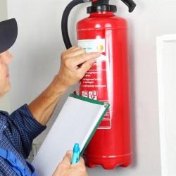 Revisión Anual de Extintores