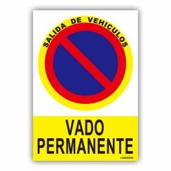 SALIDA DE VEHÍCULOS - VADO...