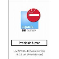 """RÓTULO PROHIBIDO FUMAR"""""""""""