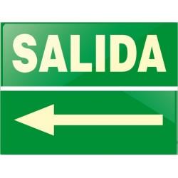 RÓTULO SALIDA (Flecha...