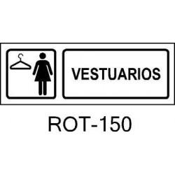Rótulo Vestuario Femenino