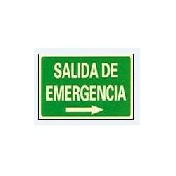 RÓTULO SALIDA DE EMERGENCIA...