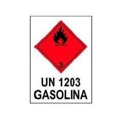 RÓTULO GASOLINA - UN 1203