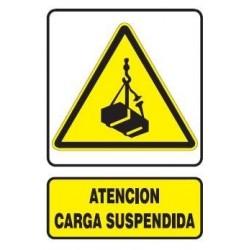 SEÑAL DE CARGA SUSPENDIDA