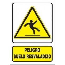 SEÑAL SUELO RESBALADIZO