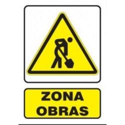 SEÑAL DE ZONA DE OBRAS