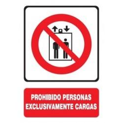 SEÑAL PROHIBIDO PERSONAS,...