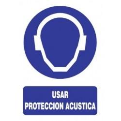 SEÑAL USO DE PROTECCIÓN...