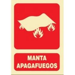 SEÑAL MANTA APAGAFUEGOS