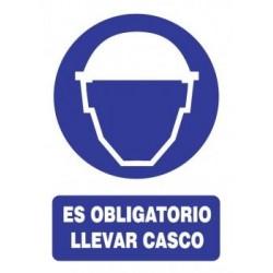 SEÑAL USO DE CASCO