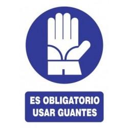 SEÑAL DE USO DE GUANTES