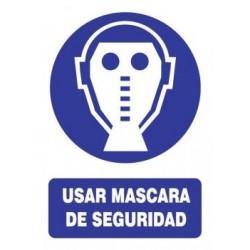 SEÑAL USO DE MÁSCARA DE...