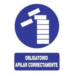 SEÑAL APILAR CORRECTAMENTE