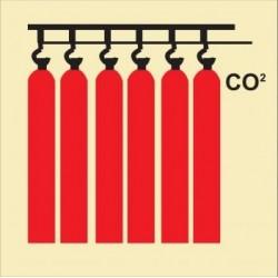 Señal de batería de CO2