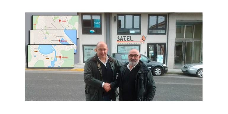 SATEL, nuevo distribuidor comercial en Lugo, Burela y Viveiro