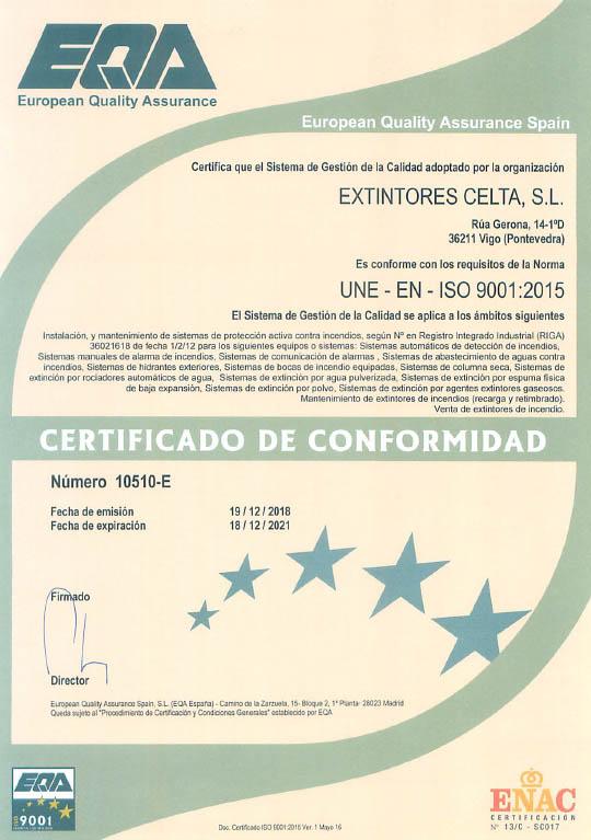 ISO9001_extintorescelta